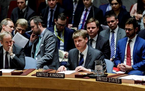 Британія звинуватила Росію в порушенні статуту ООН