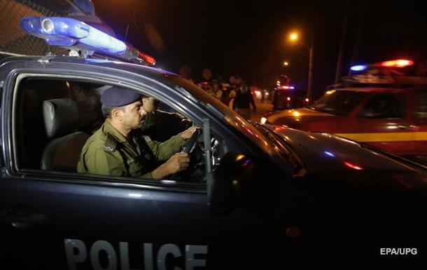 Поліція на місці вибуху в Пакистані