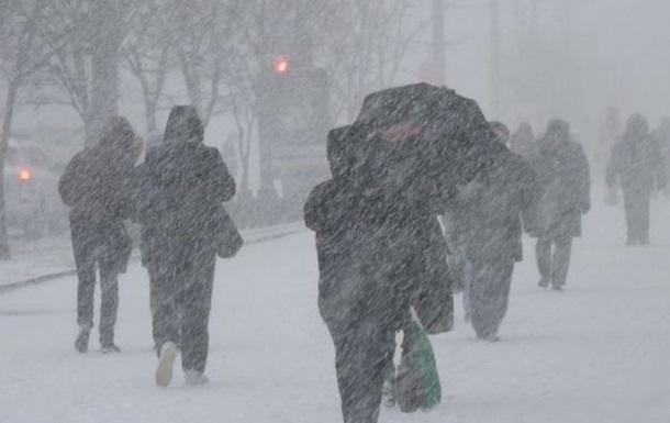 На выходных Украину засыплет снегом