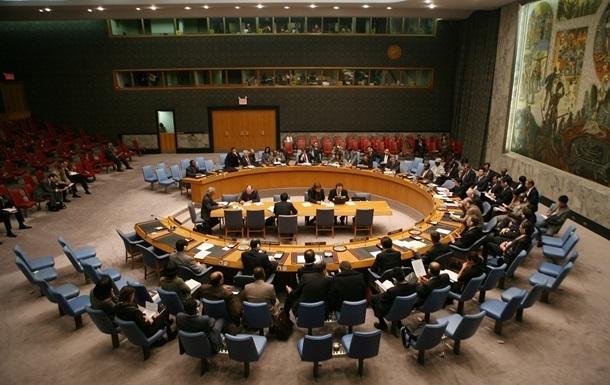 Україна скликала засідання Радбезу ООН щодо Криму