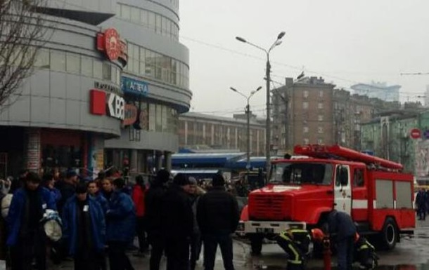 В Киеве  заминировали  торговый центр