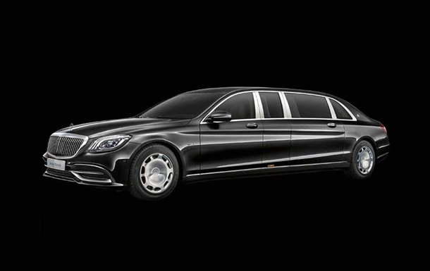 Новий Mercedes-Maybach Pullman показали на фото