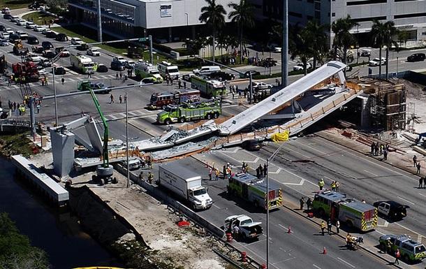 Обвалення мосту в Маямі: загинули четверо людей