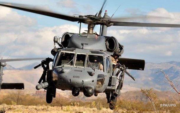 Військовий вертоліт США розбився в Іраку