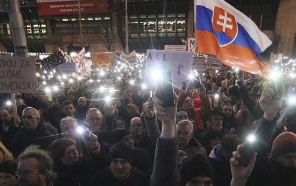 Все очень похоже: что происходит в Словакии
