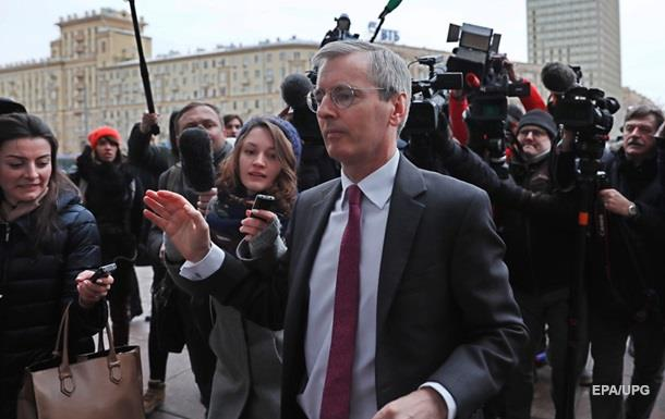 Справа Скрипаля: РФ викликала британського посла