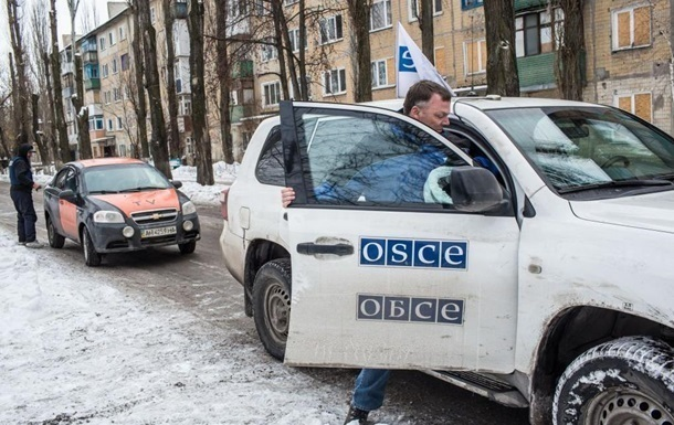 ОБСЕ за сутки насчитала 63 взрыва на Донбассе