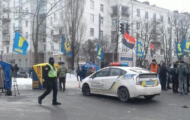 Центр Киева охраняют полторы тысячи силовиков