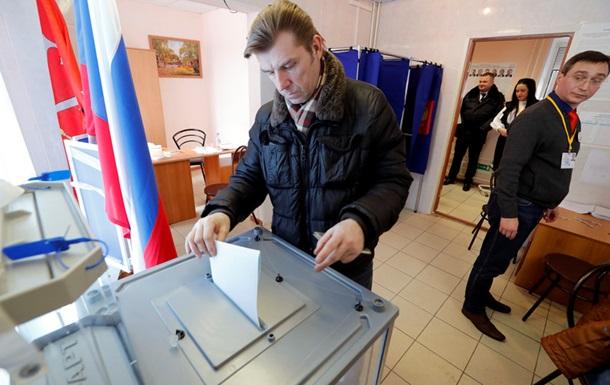 Явка на виборах у Росії вже майже 60%