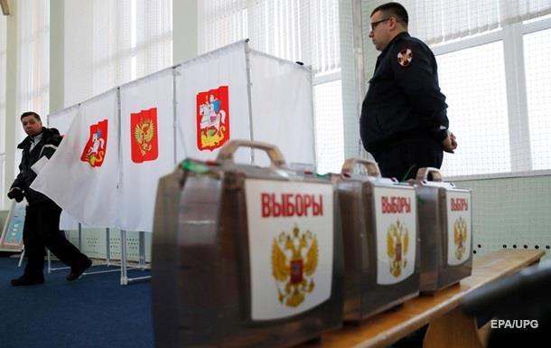 ОБСЄ про вибори в Росії: Обмежені основні свободи
