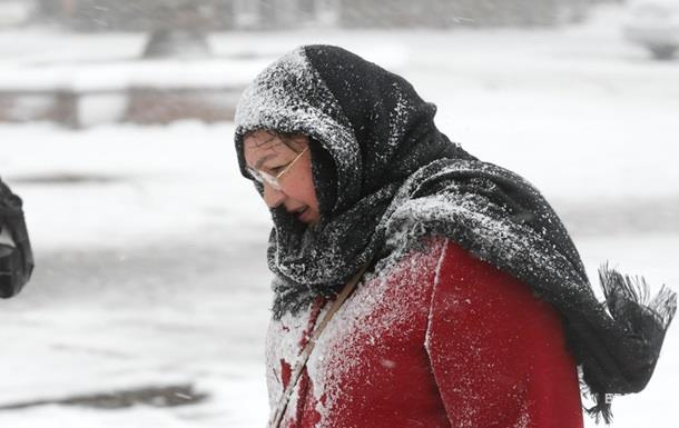 Украинцам обещают сильный ветер и снегопады