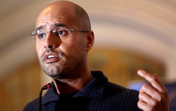 Сын Каддафи объявил онамерении сражаться запост президента Ливии