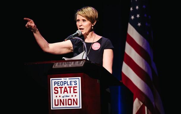 Звезда Секса в большом городе выдвинулась на пост губернатора Нью-Йорка