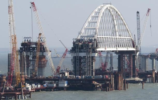 Движение по Керченскому мосту планируют начать в мае