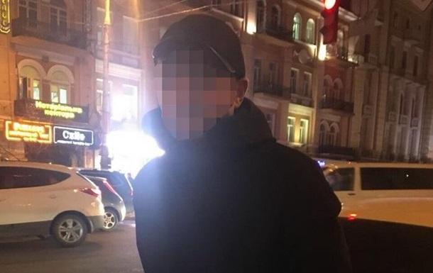 В Киеве поймали  минера  здания МВД