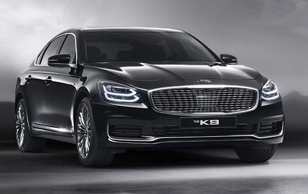 З явилися нові знімки розкішного седана Kia K900