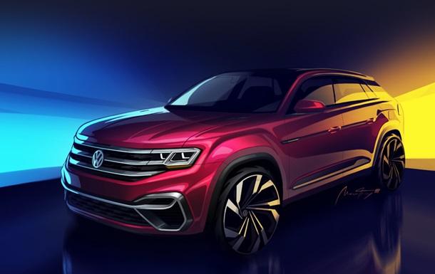 Появились фото нового кроссовера Volkswagen Atlas