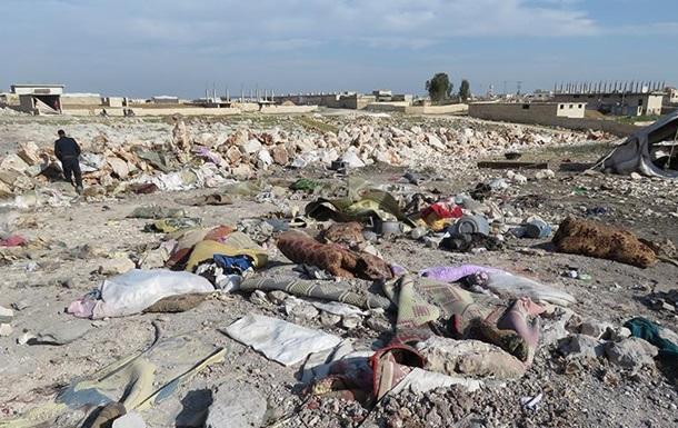 Самолеты РФ ударили по лагерю беженцев в Сирии − СМИ
