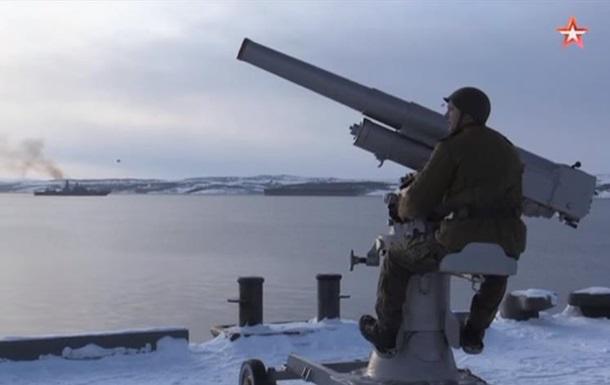 У Росії випробували столітню зенітну гармату