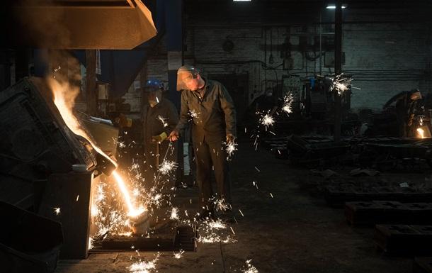 В Україні сповільнилося промвиробництво