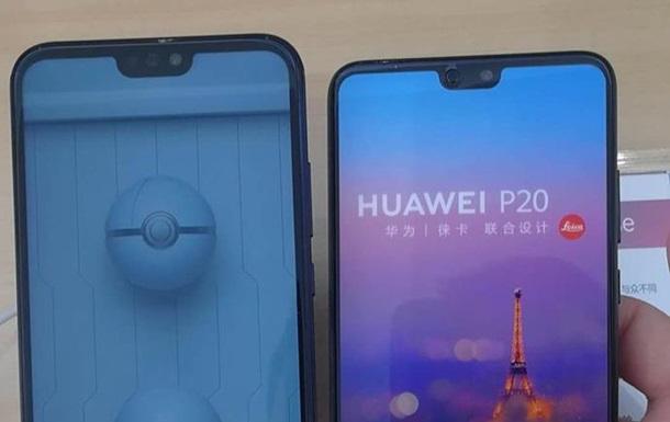 Живые фото иновые детали поHuawei P20 иP20 Pro