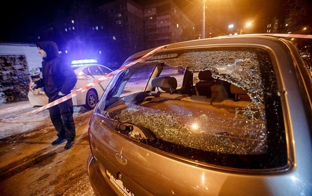В Запорожье взорвали автомобиль