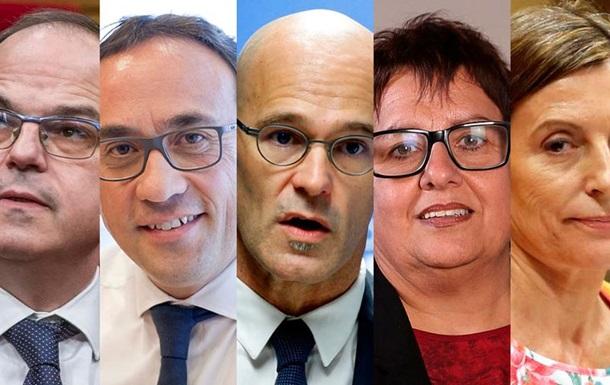 В Іспанії заарештували п ять каталонських політиків