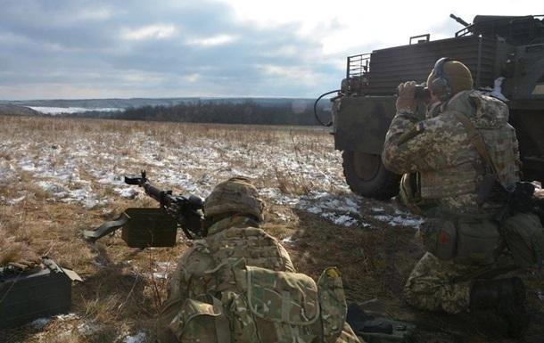 Боевики 5 раз обстреляли позиции сил АТО наДонбассе, без потерь,— штаб