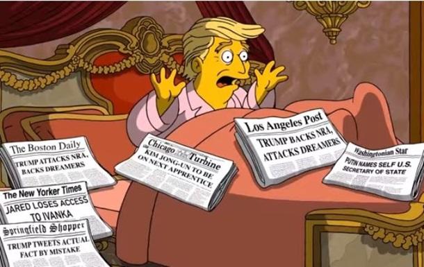 У Сімпсонах висміяли фобії Трампа