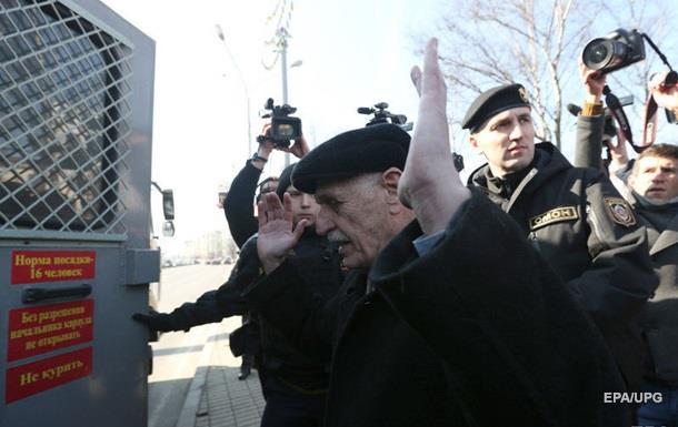 У Білорусі затримали учасників Дня волі