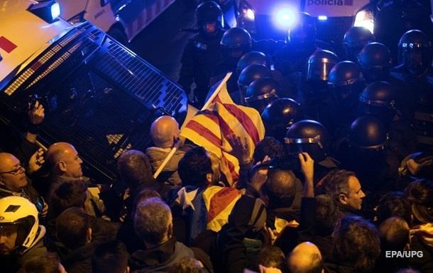 У зіткненнях у Барселоні постраждали більш як 50 людей