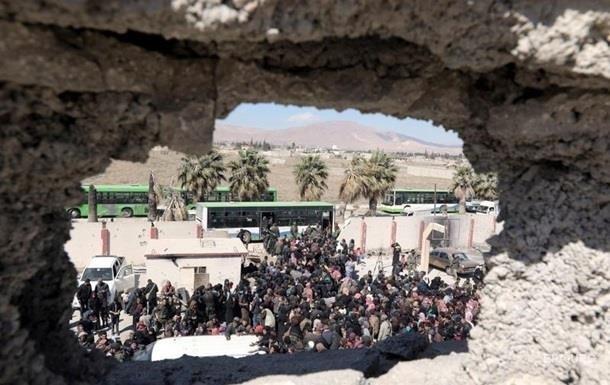 Восточную Гуту покинули более 110 тысяч мирных жителей
