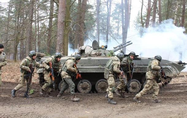 ВСУ показали фото совместных учений с иностранными войсками на Львовщине
