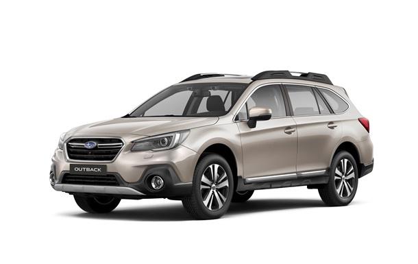 Новий Subaru Outback прибув в Україну