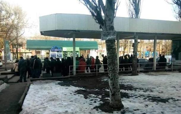 В Николаеве водители маршруток устроили забастовку
