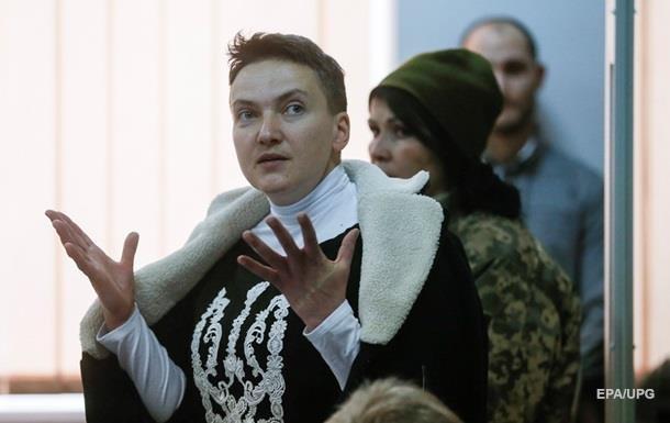 Апеляцію на арешт Савченко розглянуть 29 березня