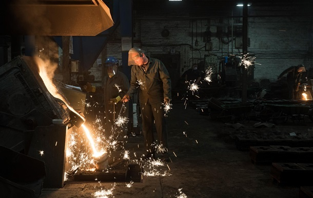 Украина опустилась в рейтинге производителей стали