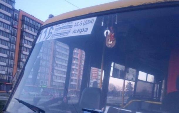 Во Львове задержали пьяного водителя маршрутки