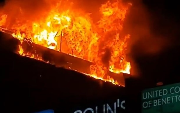 У Росії загорівся житловий будинок