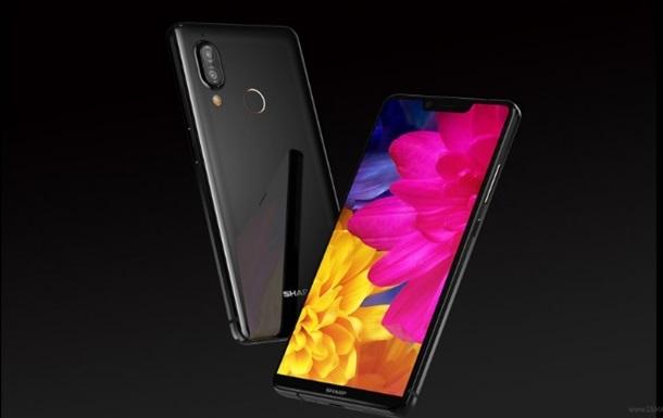 Sharp представила смартфон-двійник iPhone X