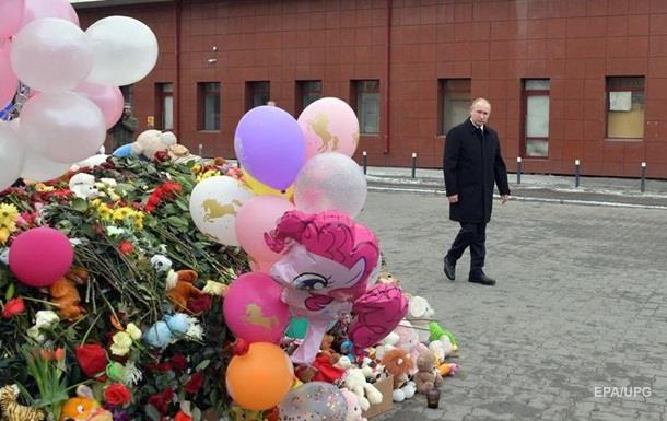 Путин встретился с митингующими в Кемерово