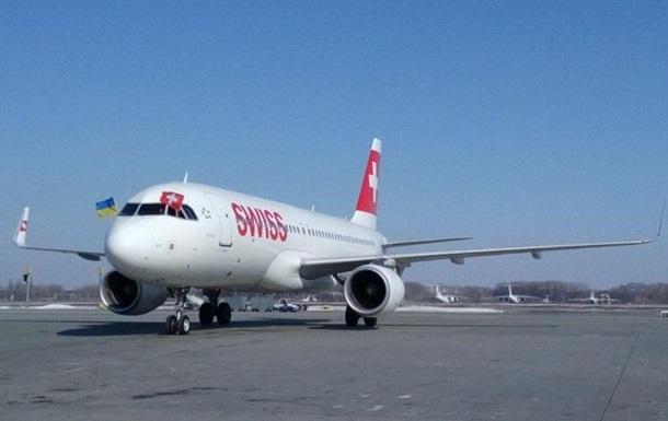 Швейцарская Swiss возобновила полеты в Украину