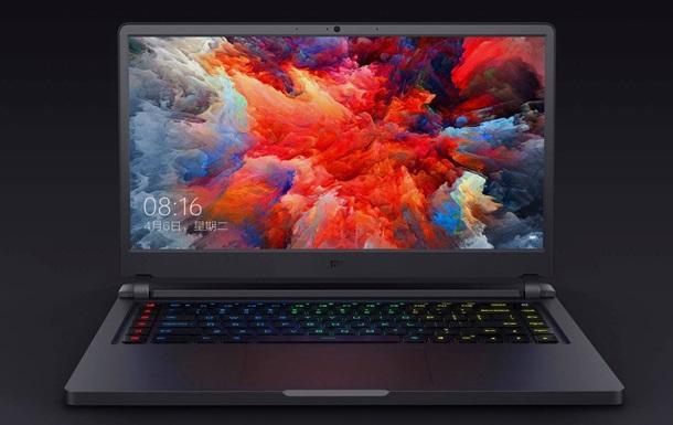 Xiaomi представила потужний ноутбук для геймерів