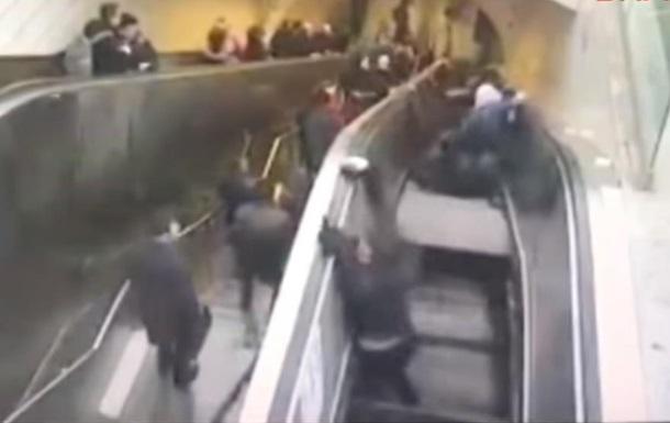 В Стамбуле сломанный эскалатор  зажевал  мужчину