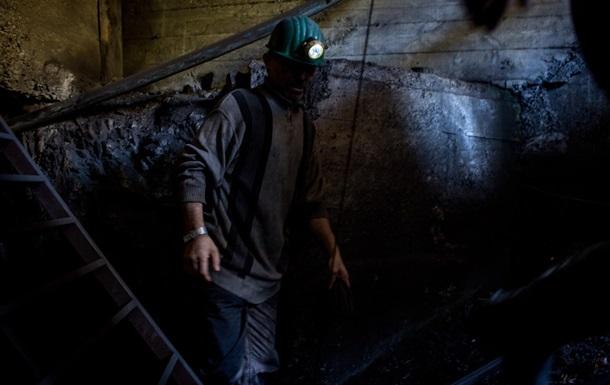 Украина снизила добычу угля