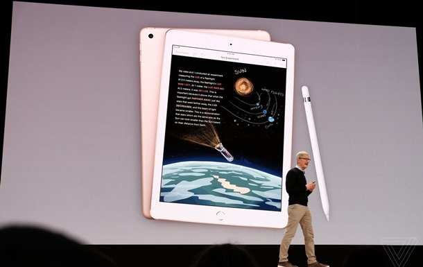 Apple официально презентовала бюджетный iPad