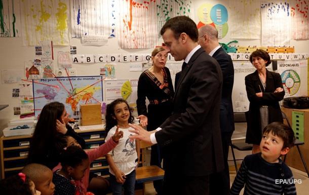 Макрон ввів обов язкову дошкільну освіту з трьох років