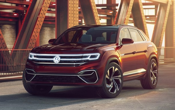 Показано дизайн авто Volkswagen Atlas Cross Sport