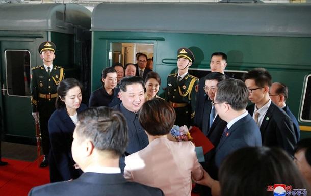 Секретный бронепоезд. Первый зарубежный визит Кима