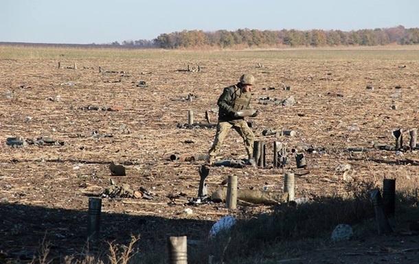 На Донбассе подорвался сапер ГСЧС